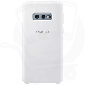 Official Samsung Galaxy S10e White Silicone Cover / Case - EF-PG970TWEGWW