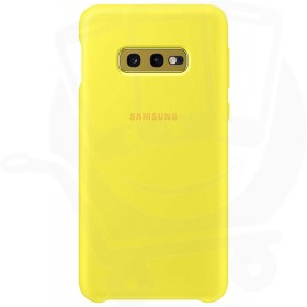 Official Samsung Galaxy S10e Yellow Silicone Cover / Case - EF-PG970TYEGWW