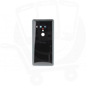 Genuine HTC U12+ Ceramic Black Rear / Battery Cover - 74H03493-04M