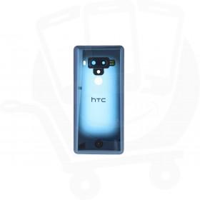 Genuine HTC U12+ Translucent Blue Rear / Battery Cover - 74H03519-02M