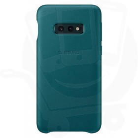 Official Samsung Galaxy S10e Green Leather Protective Cover / Case - EF-VG970LGEGWW
