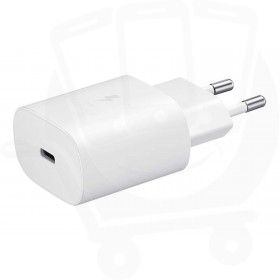 Official Samsung 25W USB-C White Mains Charger - EU