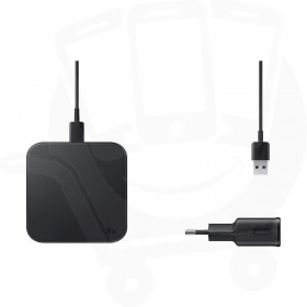 Official Samsung EP-P1300 Black Qi Wireless Charger Pad with Mains Charger - EU