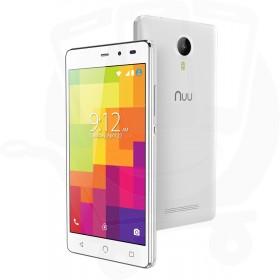 Nuu Mobile A3L 4G LTE 8GB Dual Sim 4G Sim Free / Unlocked Mobile Phone - White