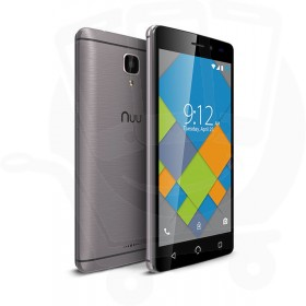 Nuu Mobile A4L 4G LTE 8GB Dual Sim 4G Sim Free / Unlocked Mobile Phone - Grey