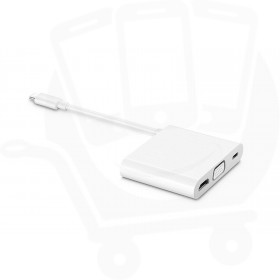 Official Huawei AD11 Matedock 2 Multiport Adapter (HDMI / VGI / USB-C) - White