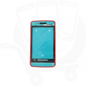 Genuine Alcatel One Touch T'Pop 4010D Red Front Cover - BCA26R0E10C0