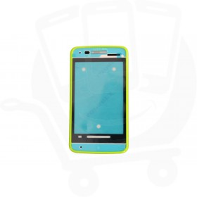 Genuine Alcatel One Touch T'Pop 4010D Green Front Cover - BCA3350F13C0