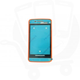Genuine Alcatel One Touch T'Pop 4010D Orange Front Cover - BCA3350J20C0