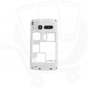 Genuine Alcatel One Touch T'Pop 4010D Dual Sim White Chassis Middle Cover - BCC26NCB11C0