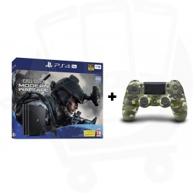 Sony PlayStation 4 Pro 1TB Console With Call of Duty®: Modern Warfare® + Additional Green Camouflage Dualshock 4 Controller Promotion