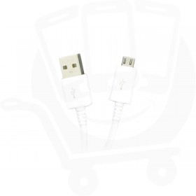Genuine Samsung ECB-DU4AWE White USB Data Cable 1.0m - MicroUSB
