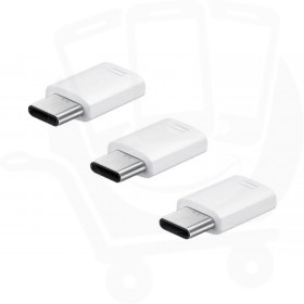 Official Samsung EE-GN930KWEGWW USB Micro USB to Type C Connector (3Pack)