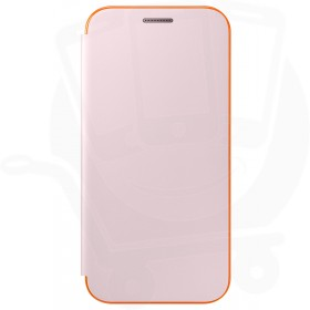 Official Samsung Galaxy A5 2017 SM-A520 Neon Pink Flip Case / Cover - EF-FA520PPEGWW