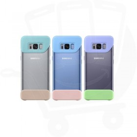 ef-mg955clegww case samsung galaxy s8 blue / peach two piece cover