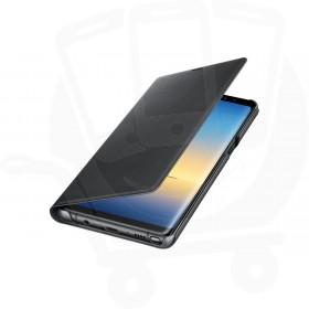 Official Samsung Galaxy Note 8 Black LED Flip Wallet / Case - EF-NN950PBEGWW