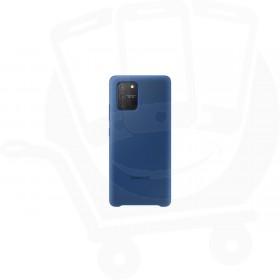 Official Samsung Galaxy S10 Lite SM-G770 Blue Silicone Cover / Case - EF-PG770TLEGEU