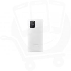 Official Samsung Galaxy S10 Lite SM-G770 White Silicone Cover / Case - EF-PG770TWEGEU