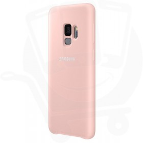 Official Samsung Galaxy S9 Pink Silicone Cover / Case - EF-PG960TPEGWW