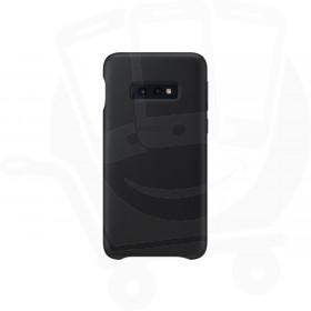 Official Samsung Galaxy S10e Black Leather Protective Cover / Case - EF-VG970LBEGWW