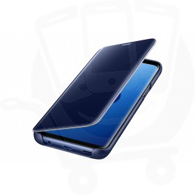 Official Samsung Galaxy S9 Blue Clear View Cover / Case - EF-ZG960CLEGWW