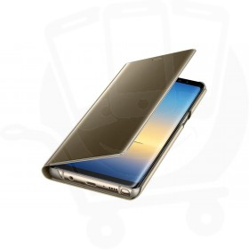 Official Samsung Galaxy Note 8 Gold Clear View Cover / Case - EF-ZN950CFEGWW