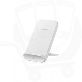 Official Samsung EP-N3300TWEGGB White 15W Qi Wireless Charger Pad with Main Charger - UK