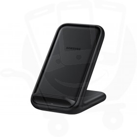 Official Samsung EP-N5200TBEGGB Black 15W Qi Wireless Charger Pad with Main Charger - UK