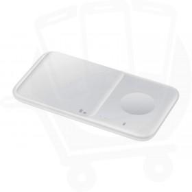 Official Samsung Duo 2 9W White Wireless Charging Pad - EU (EP-P4300BWEGEU)