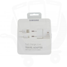 Official Samsung EP-TA20 & EP-DN930 Type C Fast Charging 2 Amp EU Mains Charger - White