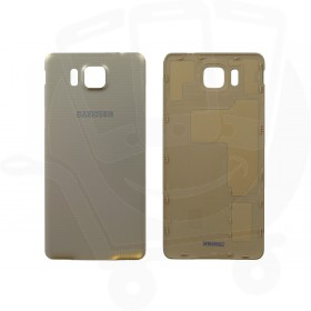 Genuine Samsung G850 Galaxy Alpha Gold Battery Cover - GH98-33688B
