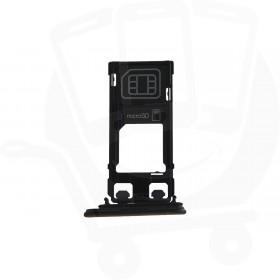 Genuine Sony Xperia XZ F8331 Black Sim Tray - 1304-9102