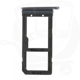 Genuine Samsung Galaxy S7 Edge G935 Black Sim & Memory Card Tray - GH98-38787A