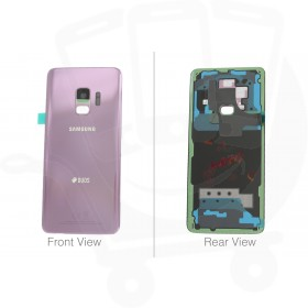 Genuine Samsung Galaxy S9 Hybrid SM-G960 Lilac Purple Rear / Battery Cover - GH82-15875B