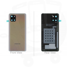 Official Samsung Galaxy N770 Note 10 Lite Aura Glow / Silver Battery Cover - GH82-21972B