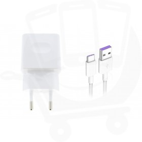 Official Huawei HW-059200EHQ Quick Charge 0.5Amp White Type C Mains Charger - EU