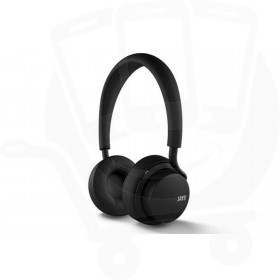 Official u-JAYS Wireless Bluetooth On Ear Headphones with 25hr Play Time & Touch Controls - Black