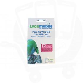 Lyca Pre Pay SIM Card