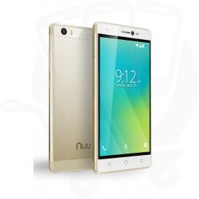 Nuu Mobile M2 Android™ 16GB Dual Sim 4G Sim Free / Unlocked Mobile Phone - Gold