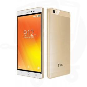 Nuu Mobile M3 Android™ 16GB Dual Sim 4G Sim Free / Unlocked Mobile Phone - Gold