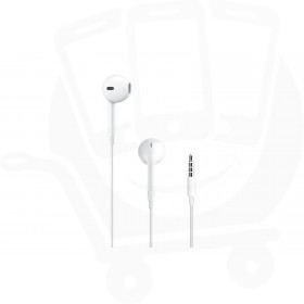 Official Apple EarPods with 3.5mm Headphone Jack and Lightning to 3.5mm Headphone Jack Adapter - MNHF2ZM/A + MMX62ZM/A