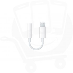 Official Apple Lightning to 3.5mm Headphone Jack Adapter - MMX62ZM/A
