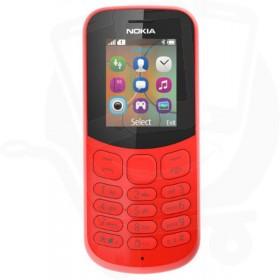 Nokia 130 2017 Red Sim Free Mobile Phone