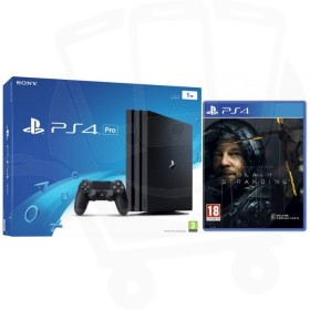 Sony PlayStation 4 Pro 1TB Black Console with Death Stranding