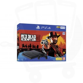 Sony PlayStation 4 Slim 500GB Console With Red Dead Redemption 2