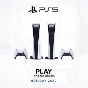 Sony PlayStation 5 - Coming Holiday 2020
