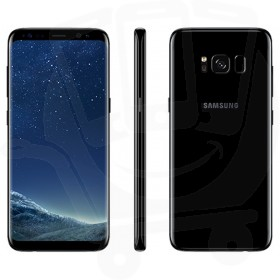 Samsung Galaxy S8 SM-G950 64GB Black Sim Free Mobile Phone - A-Grade