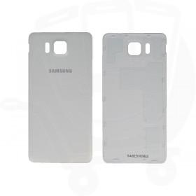 Genuine Samsung G850 Galaxy Alpha White Battery Cover - GH98-33688D