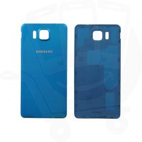 Genuine Samsung G850 Galaxy Alpha Blue Battery Cover - GH98-33688C