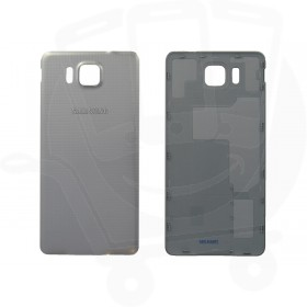Genuine Samsung G850 Galaxy Alpha Silver Battery Cover - GH98-33688E